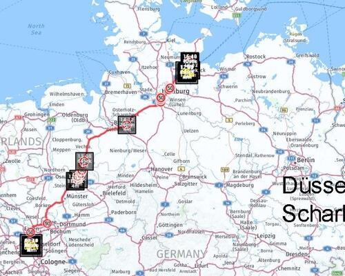 Düsseldorf nach Scharbeutz