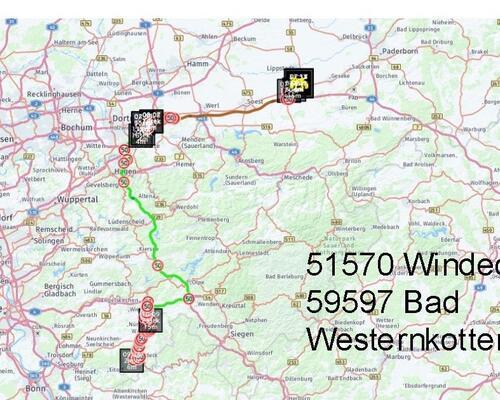 Windeck nach Bad Westernkotten